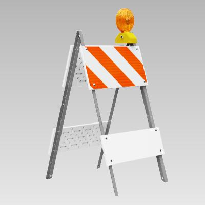 A-Frame Folding Barricades
